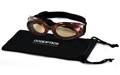Sunglasses Dogoptics Hundebrille Ibiza Brown frame Brown lens