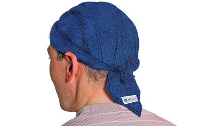 Aqua Coolkeeper Kopftuch Cooling Bandana / Scullycap, pacific blau