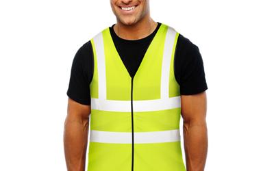 Aqua Coolkeeper Cooling Vest, neongelb mit Reflektoren