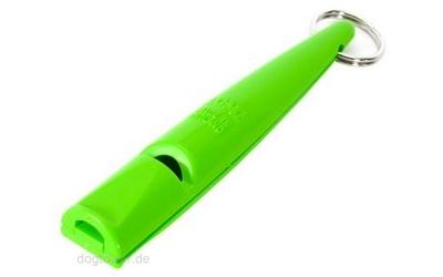 Hundepfeife Neongrün