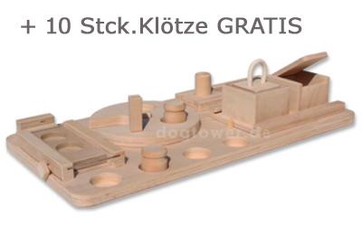 AKTION DogStation + 10 GRATIS Klötze