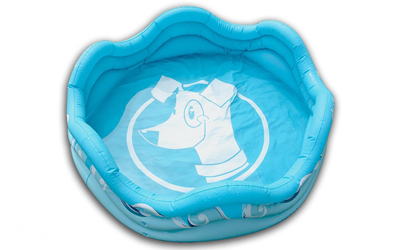 alcott mariner Hundepool, blau