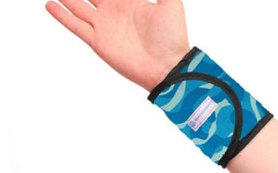 Aqua Coolkeeper Cooling kühlendes Armband, cool blue