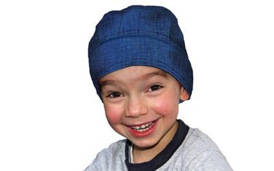 Aqua Coolkeeper Kopftuch Cooling Bandana Kids, Pacific Blue