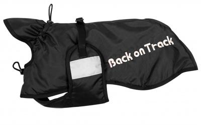 Back on Track Hunde Standardmantel, schwarz