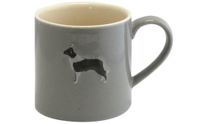 Bailey & Friends Mug Border Collie Grey