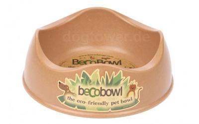 Beco Bowl Hundenapf, braun