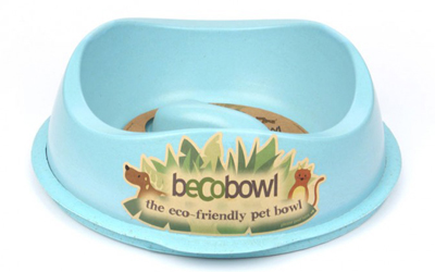 Beco Slow Food Bowl Hundenapf, blau