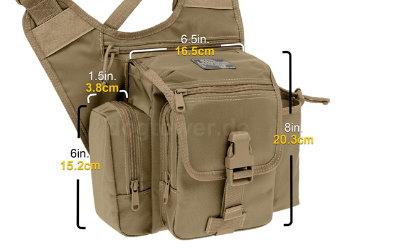 Abmessungen der Einzeltaschen