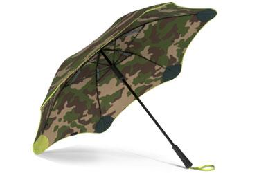 blunt Regenschirm Classic mit sleeve, camouflage/orange