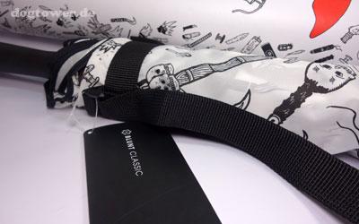 Black and white Regenschirm aus der blunt Kollektion