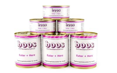 Boos Fleischdosen, Euter & Herz (Rind)