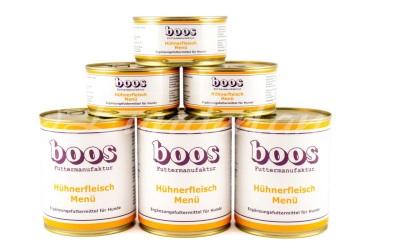 Boos Menü Fleischdosen, Hühnerfleisch-Menü