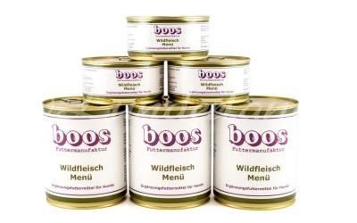 Boos Menü Fleischdosen, Wild-Menü