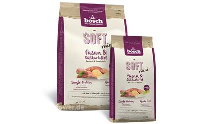 Bosch Hundefutter SOFT Mini Fasan & Süßkartoffel
