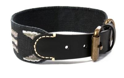 Buddys Dogwear Hundehalsband Etna Black Collar