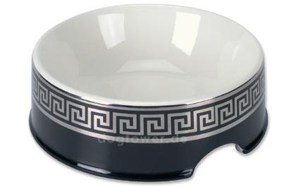 Chacco Keramiknapf Classic schwarz/silber