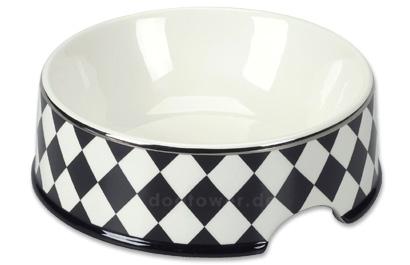 Chacco Keramiknapf Domino schwarz