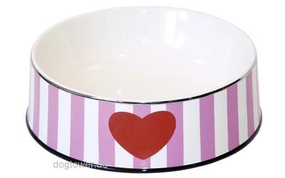 Chacco Hundenapf Heart, pink