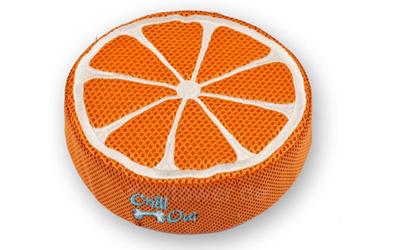 Chill Out Hundespielzeug Schwamm Flyer, Orange