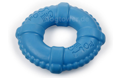 Chill Out Hundespielzeug Water LifeRing, blau