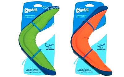 Chuckit Hundespielzeug in grün und orange