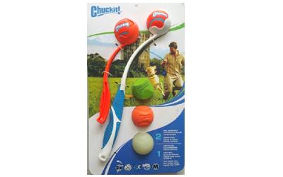 Chuckit Ball Launcher Set inkl. 3 Chuckit Bälle