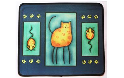 Companion Style Napfunterlage Katz und Maus