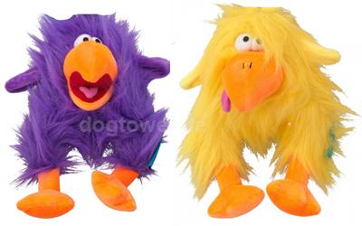 COOCKOO Plüschspielzeug Fuzzl in lila und gelb