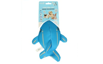 CoolPets Dolphi the Dolphin schwimmfähiges Hundespielzeug