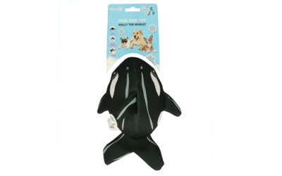 CoolPets Wally the Whale schwimmfähiges Hundespielzeug