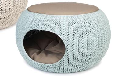 Curver Cozy Pet Home, hellblau