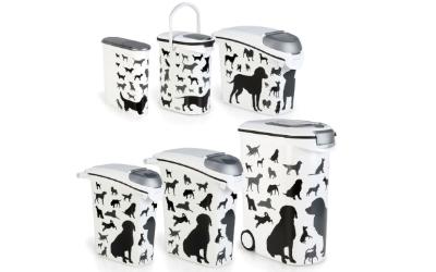 Curver Futterbehälter mit Hundesilhouette