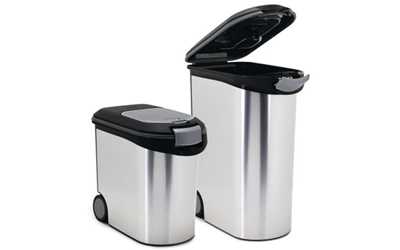Curver Trockenfutterbehälter Metallic