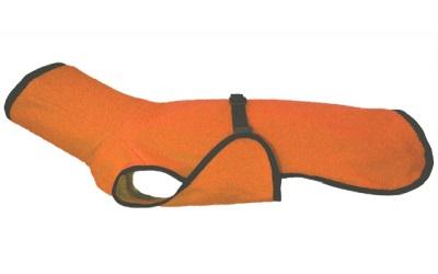 Dackel & Co. iqo Hundebademantel Pitschnass, orange