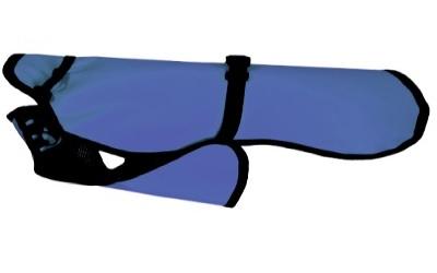 Dackel & Co. iqo Regenguss PLUS (+ Mesh-Innenseite), blau