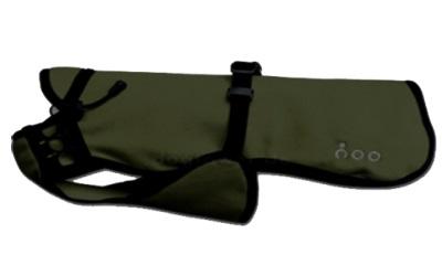 Dackel & Co. iqo VXf Hundemantel, dunkelgrün/schwarz