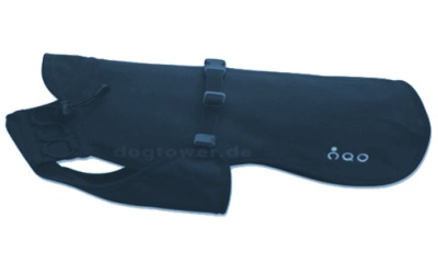 Dackel & Co. iqo VXf Hundemantel, marine/graublau