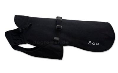 Dackel & Co. iqo VXf Hundemantel, schwarz/dunkelgrün