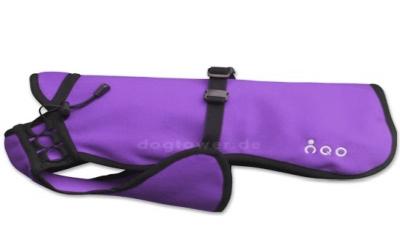 Dackel & Co. iqo VXf Hundemantel, violett