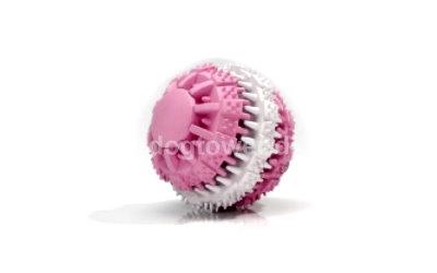 Dento Hundeball in rosa