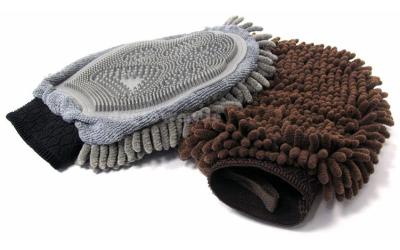 Extrem saugfähige Handschuhe für das Trocknen und Säubern