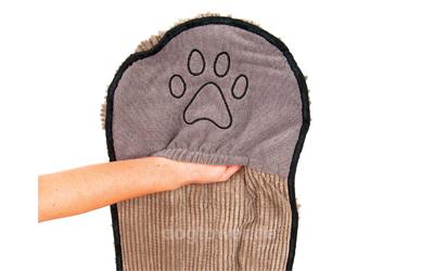 Dog Gone Smart Hundehandtuch, grau