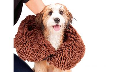 Dirty Dog Shammy, braun
