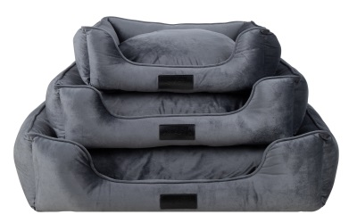 District 70 VELURO Box Bed iron grey