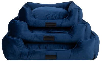 District 70 VELURO Box Bed royal blue