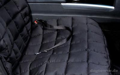 Doctor Bark Beifahrersitz Autodecke, schwarz