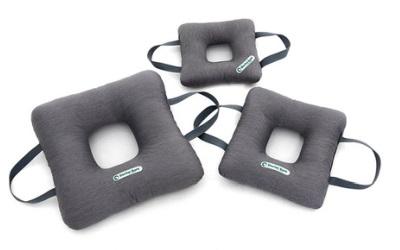 Doctor Bark Toy Donut Square Hundespielzeug für Allergiker, grau
