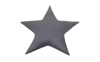 Doctor Bark Toy Star Hundespielzeug für Allergiker, grau