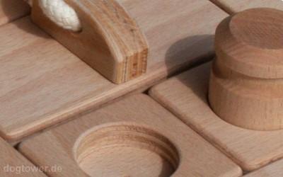 Intelligenzspielzeug aus Holz